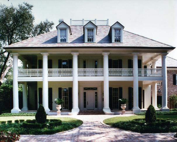 Domin bock architects portfolio for Southern homes louisiana